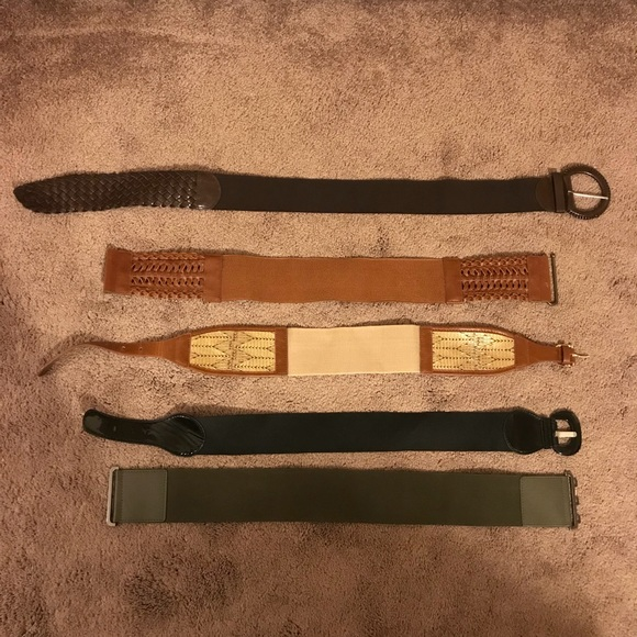 Accessories - Belts with elastic **MUST BE GONE THIS WEEK**